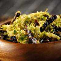 Ancho Chile Brussels Slaw Recipe