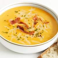 Apple-Cheddar-Squash Soup Recipe