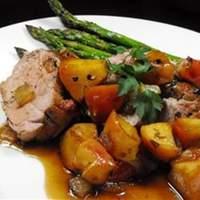 Apple Glazed Pork Tenderloin Recipe