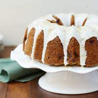 Apple Spice Bundt Cake with Rum Glaze Recipe