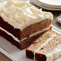 Apple Spice Cake with Cream Cheese Icing Recipe