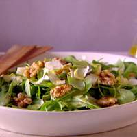 Arugula Endive Salad with White Wine Vinaigrette Recipe