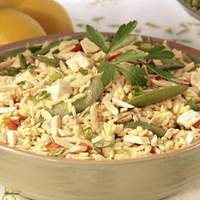 Asian Chicken and Orzo Salad Recipe