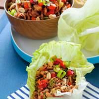 Asian Chicken Lettuce Cups Recipe