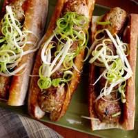 Asian Meatball Subs With Hoisin Mayonnaise Recipe