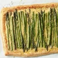 Asparagus and Cheese Tart Recipe
