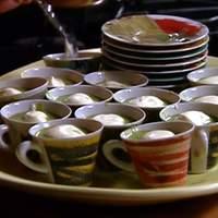 Asparagus Soup with Parmigiano Zabaglione Recipe