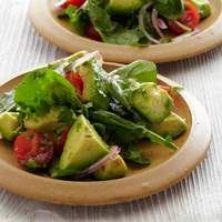 Avocado Salad with Tomatoes, Lime, and Toasted Cumin Vinaigrette Recipe