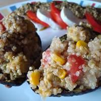 Avocados Stuffed With Quinoa, Corn and Tomato Recipe
