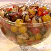 Baby Heirloom Tomato and Cucumber Salad Recipe