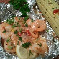 Back Porch Bayou Shrimp & Corn #RSC recipe