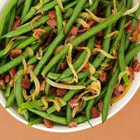 Bacon Braised Green Beans Recipe