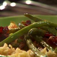 Bacon Fried Green Beans Recipe