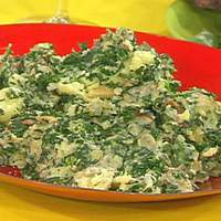 Bacon, Spinach and Cream Potatoes Recipe