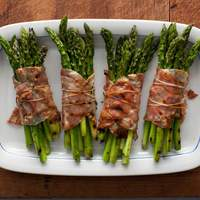 Bacon Wrapped Asparagus Bundles Recipe