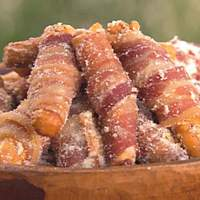Bacon Wrapped Breadsticks Recipe