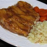 Baked Chicken with Peaches Recipe