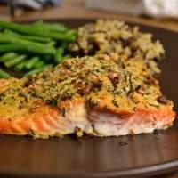 Baked Dijon Salmon Recipe