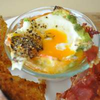 Baked Eggs and Avocados Recipe