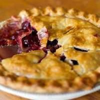 Baked Fresh Cherry Pie Recipe