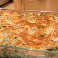Baked Ricotta and Spinach Rigatoni Recipe