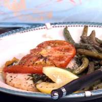 Baked Tilapia with Tomato and Basil Recipe