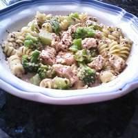Basil Chicken and Pasta Recipe