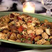 Basil Chicken Hash Recipe