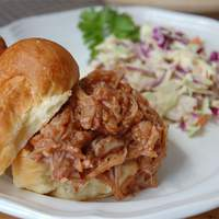 BBQ Pork for Sandwiches Recipe