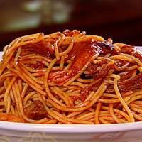 BBQ Spaghetti Recipe