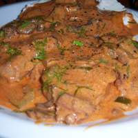 Beef Paprikas Recipe