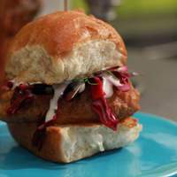 Beer Battered Codwich Sliders Recipe