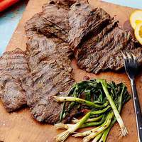Beer-Marinated Grilled Skirt Steak Recipe