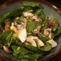 Bermuda Spinach Salad Recipe
