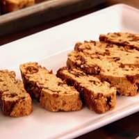 Biscotti with Caramelized Hazelnuts Recipe