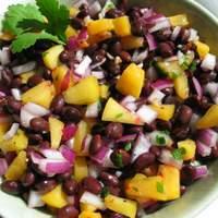 Black Beans and Peaches Recipe
