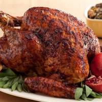 Black Pepper-Pomegranate Molasses Glazed Turkey Recipe