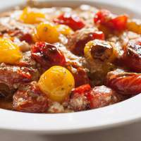 Blistered Tomatoes in the Snow Recipe