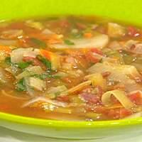 BLT and P (Bacon, Leek, Tomato and Potato) Soup Recipe