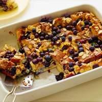 Blueberry Almond French Toast Bake Recipe