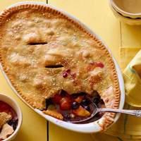 Blueberry Peach Cobbler Recipe