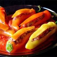 Bob's Stuffed Banana Peppers Recipe