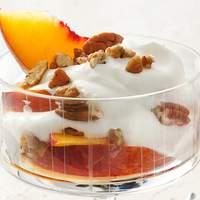 Boozy Peaches and Cream Recipe