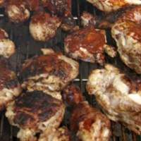 Bourbon BBQ Chicken with Sixteen Spice Rub Recipe