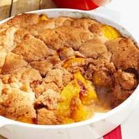 Bourbon Peach Cobbler Recipe
