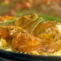 Braised Chicken Thighs with Button Mushrooms Recipe