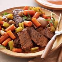 Braised Pot Roast with Vegetables Recipe