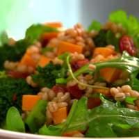 Broccoli and Barley Smoked Paprika Salad Recipe