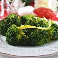 Broccoli with Lemon Butter Sauce Recipe
