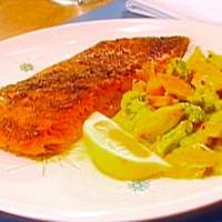Broiled Salmon with AB's Spice Pomade Recipe